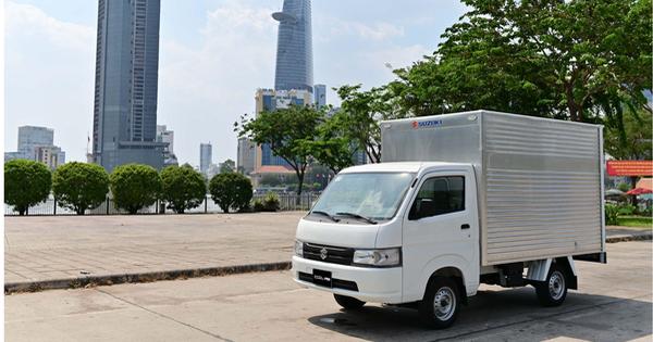 Nhu cầu vận chuyển tăng vọt mùa dịch, Suzuki Carry Pro phát huy thế mạnh