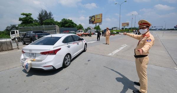Xe không vào Hà Nội đang giãn cách có thể đi lộ trình nào?