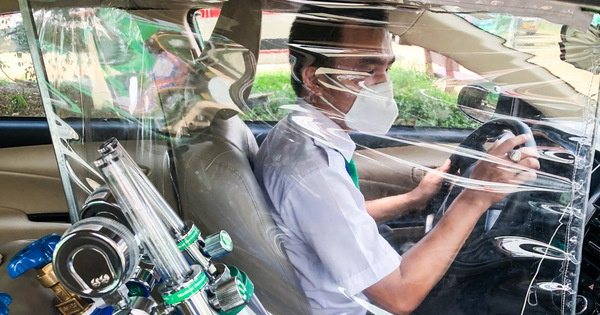 Xe taxi được chuyển đổi thành xe cấp cứu như thế nào?
