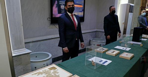 Mỹ trao trả hơn 17.000 cổ vật cho Iraq